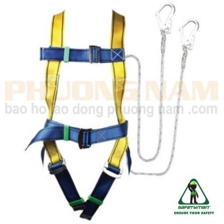 Dây an toàn toàn thân 2 móc Safetyman
