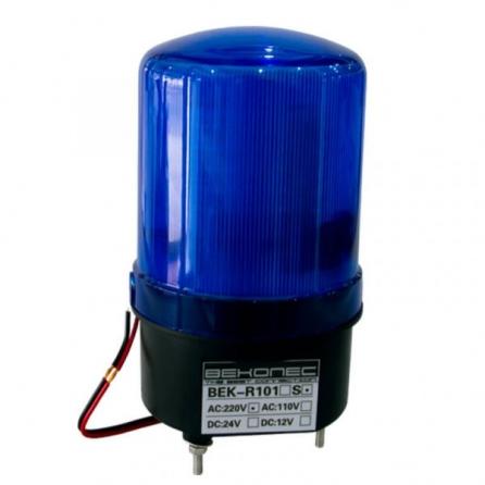 Đèn cảnh báo LED quay có còi
