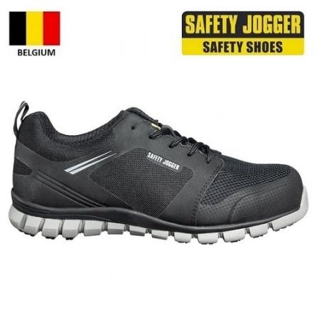 Giày bảo hộ Jogger Ligero S1P màu đen