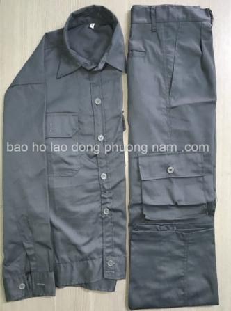 Quần áo bảo hộ vải 65/35