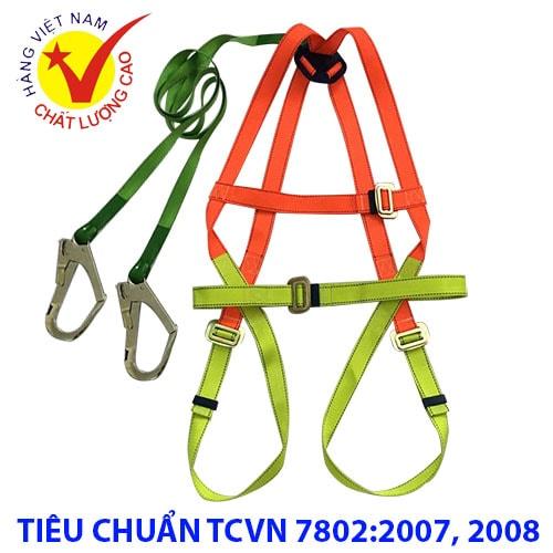 Dây an toàn toàn thân 2 móc Nhật Quang