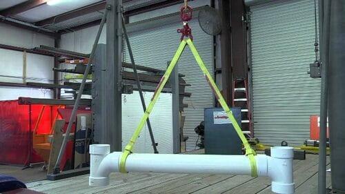 Cáp vải cẩu hàng 1 tấn, 2 tấn, 3 tấn