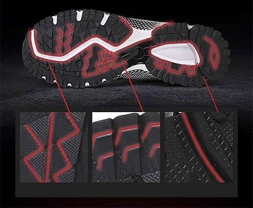 Giày bảo hộ thể thao aolang red đỏ