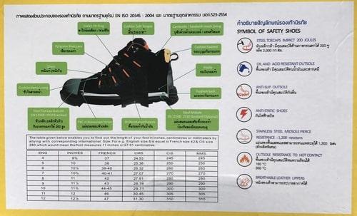 Giày bảo hộ Hunter X 2019 Thai Lan