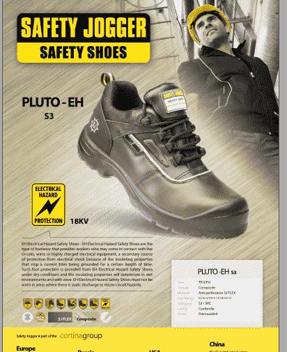 Giày bảo hộ cách điện Jogger Pluto S3