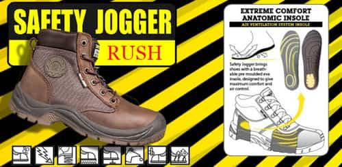Giày bảo hộ JOgger Rush cao cổ
