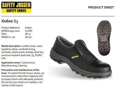 Giày bảo Safety Jogger X0600