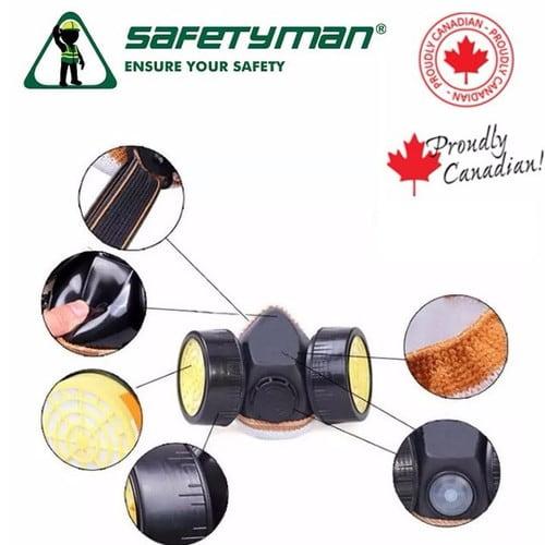 mặt nạ phòng độc sm306 safetyman