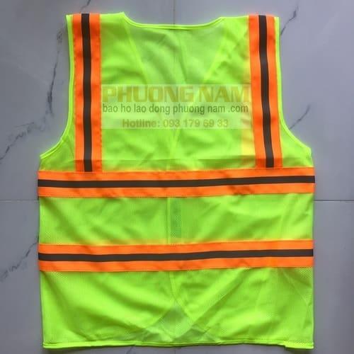 Áo phản quang dây kéo có túi